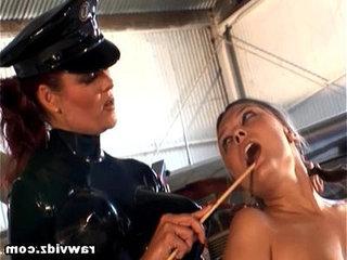 Mistress Aracadia And Vanessa Lynn Strap On Lesbian Fuck