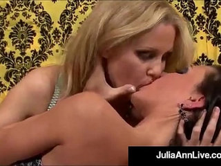 Busty milf julia ann and lesbo jessica jaymes love wet cunts