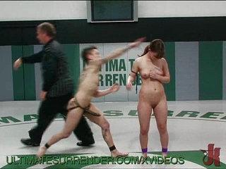 Hot Fisting For Lesbian Wrestler