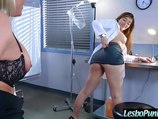 Hot lez girl dani and phoenix get punished by mean lesbo movie