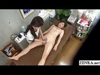 JAV CFNF lesbian massage clinic internal stimulation